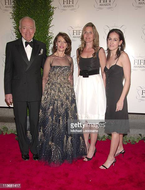 Leonard Lauder Evelyn Lauder Aerin Lauder and Jane Lauder