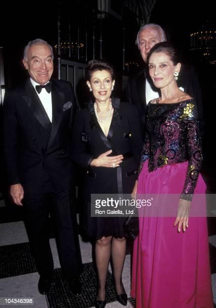 Leonard Lauder Evelyn Lauder and Audrey Hepburn