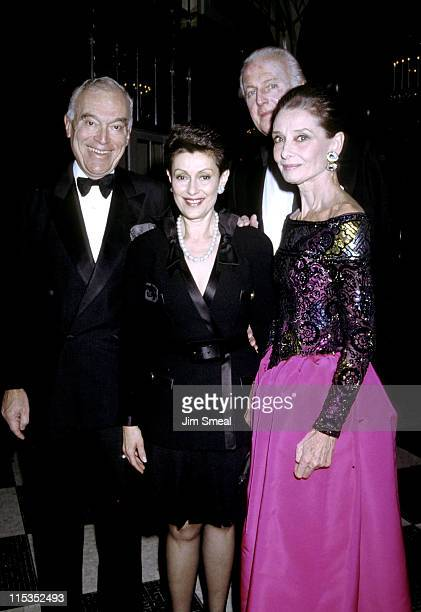 Leonard Lauder Evelyn Lauder Audrey Hepburn and Givenchy