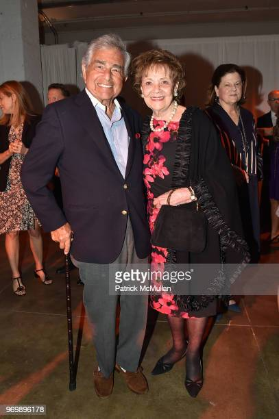 Leonard Lawrence and Matilda Cuomo attend the HELP USA Heroes Awards Gala at the Garage on June 4 2018 in New York City