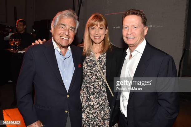 Leonard Lawrence Barbara Kornreich and Tom Kornreich attend the HELP USA Heroes Awards Gala at the Garage on June 4 2018 in New York City