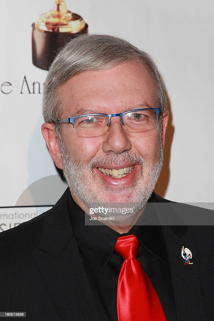 Leonard Maltin arrives at the 40th Annual Annie Awards at Royce Hall on the UCLA Campus on February 2, 2013 in Westwood, California.