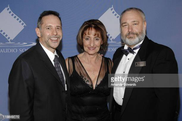Leonard Moskowitz Jacqueline Moskowitz and Edward L Muskowitz attend the 44th Annual Cinema Audio Society Awards at the Millenium Biltmore Hotel on...