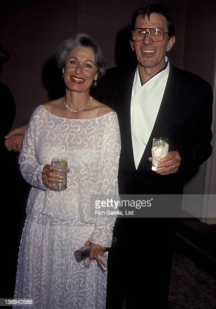 Leonard Nimoy and Susan Bay attend Carousel of Hope Benefit Gala on October 26, 1990 at the Beverly Hilton Hotel in Beverly Hills, California.