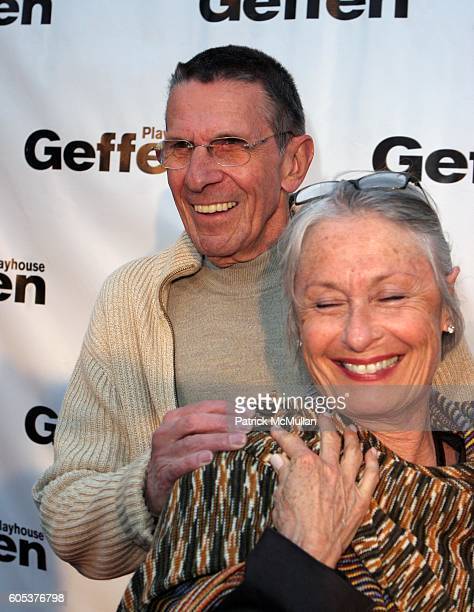 Leonard Nimoy and Susan Bay Nimoy attend Geffen Playhouse holds backstage at the Geffen Gala at Geffen Playhouse on May 1, 2006 in Los Angeles, CA.