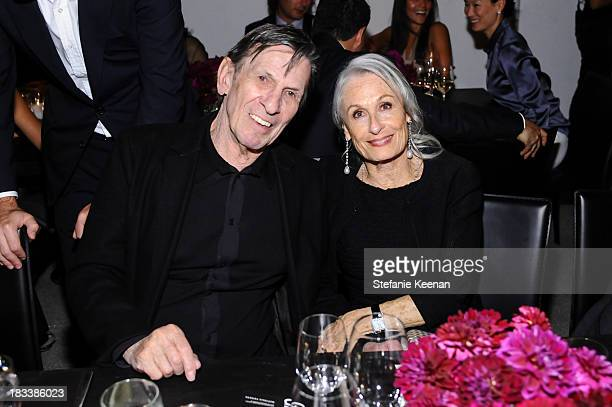 Leonard Nimoy and Susan Bay Nimoy attend Hammer Museum 11th Annual Gala In The Garden With Generous Support From Bottega Veneta, October 5 Los...