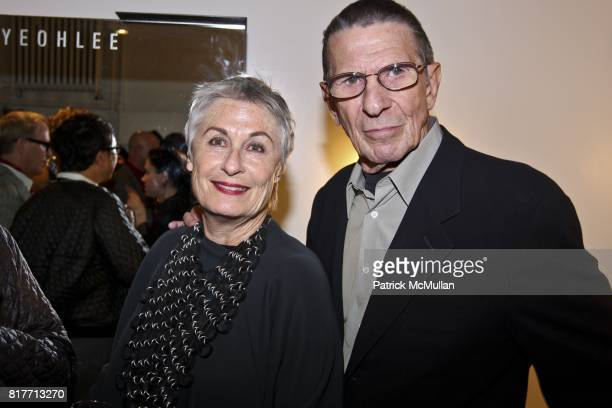 Leonard Nimoy and Susan Nimoy attend YEOHLEE Store Opening Celebration at 25 West 38th Street on October 12, 2010 in New York City.