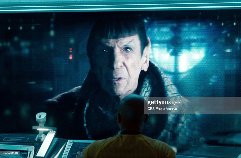 Leonard Nimoy as Spock Prime in the 2013 movie,