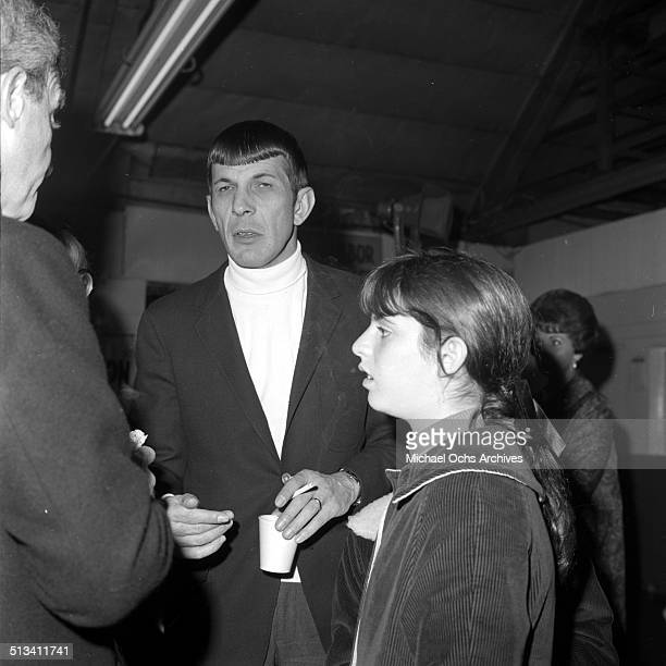 Leonard Nimoy attends an event in Los Angeles,CA.