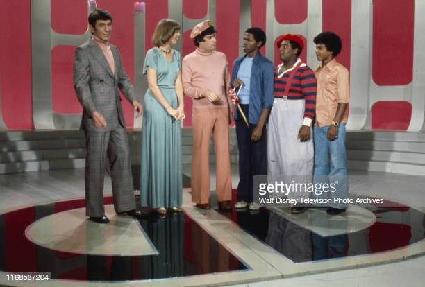 Leonard Nimoy Toni Tennille Daryl Dragon The Captain and Tennille Ernest Thomas Fred Berry Haywood Nelson appearing on the ABC tv series 'The Captain...