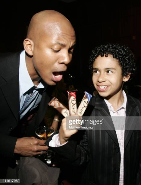 """Leonard Robert and Noah Gray-Cabey during The Academy of Television Arts and Sciences Presents An Evening with """"Heroes"""" - VIP Reception at Leonard H...."""