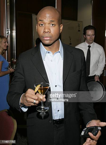 """Leonard Roberts during The Academy of Television Arts and Sciences Presents An Evening with """"Heroes"""" - VIP Reception at Leonard H. Goldenson Theatre..."""
