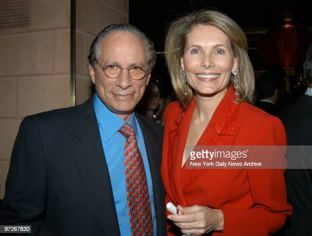 Leonard Stern and wife Alison are on hand at a party at Doubles in the Sherry Netherland Hotel celebrating the Chinese New Year and the launch of...