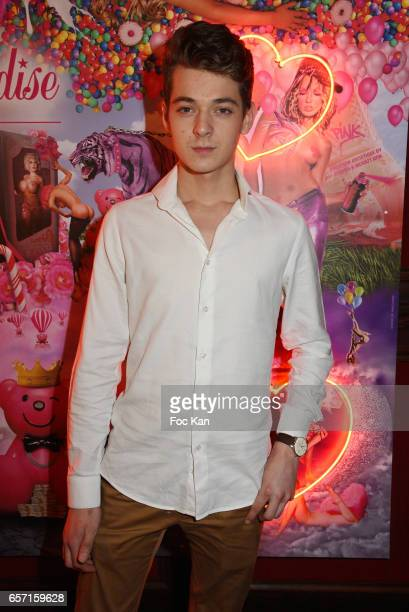 Leonard Trierweiler attends Pink Paradise Club 15th Anniversary on March 23 2017 in Paris France