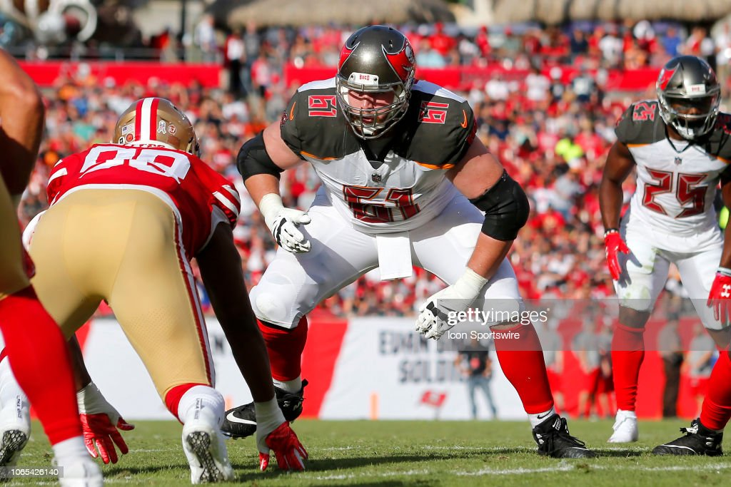 NFL: NOV 25 49ers at Buccaneers : News Photo