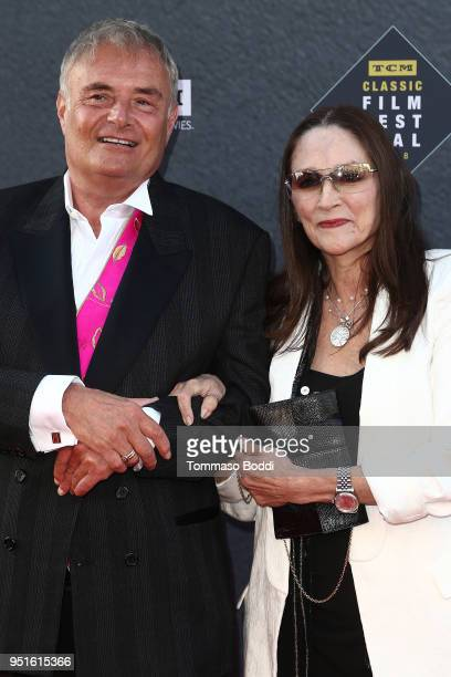 Leonard Whiting and Olivia Hussey attend the 2018 TCM Classic Film Festival Opening Night Gala 50th Anniversary World Premiere Restoration Of The...