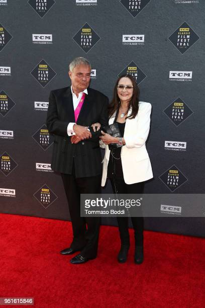 Leonard Whiting and Olivia Hussey attend the 2018 TCM Classic Film Festival - Opening Night Gala - 50th Anniversary World Premiere Restoration Of...