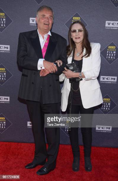 Leonard Whiting and Olivia Hussey attend the 2018 TCM Classic Film Festival Opening Night Gala 50th Anniversary World Premiere Restoration of 'The...