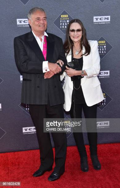 Leonard Whiting and Olivia Hussey attend the 50th Anniversary World Premiere Restoration of 'The Producers' presented as the Opening Night Gala of...