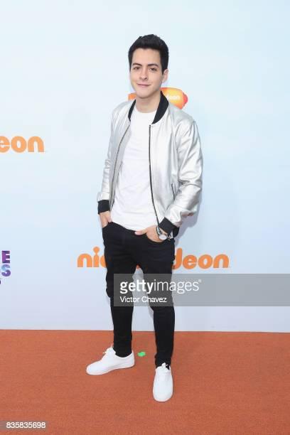 Leonardo Alvarez attends the Nickelodeon Kids' Choice Awards Mexico 2017 at Auditorio Nacional on August 19 2017 in Mexico City Mexico