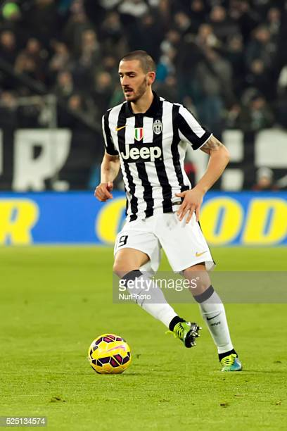 Leonardo Bonucci during the Serie A match between Juventus FC and Atalanta Calcio at Juventus Stafium on february 20, 2015 in Torino, Italy.