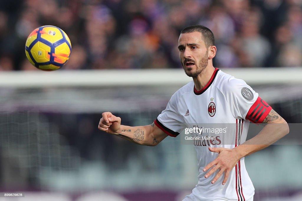 ACF Fiorentina v AC Milan - Serie A : Foto di attualità