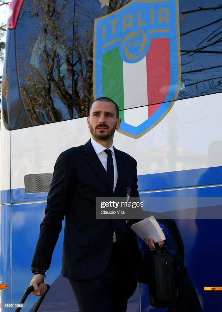 Italy Depart For Manchester