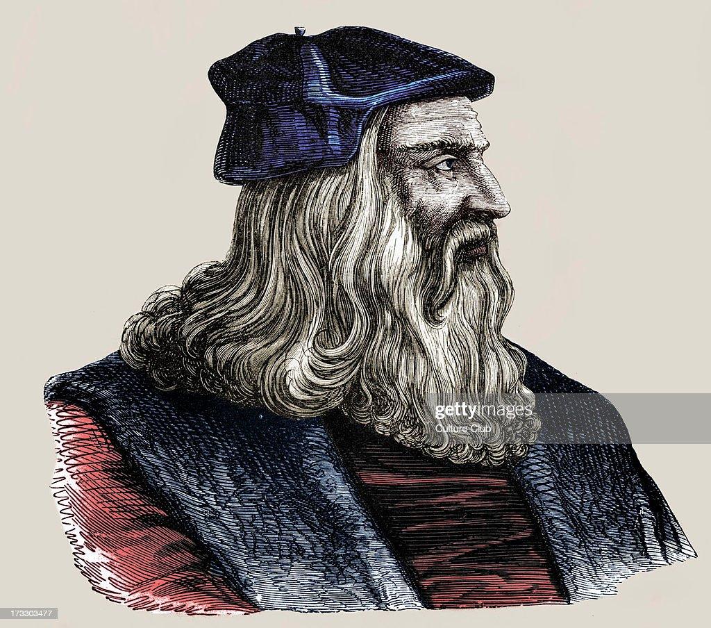 Leonardo da Vinci - : News Photo