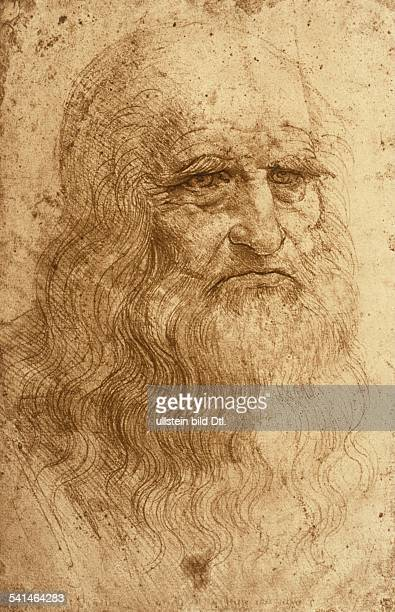 Leonardo da Vinci Leonardo da Vinci *1504145202051519 Painter artist engineer scientist Italy selfportrait sanguine drawing around 1512