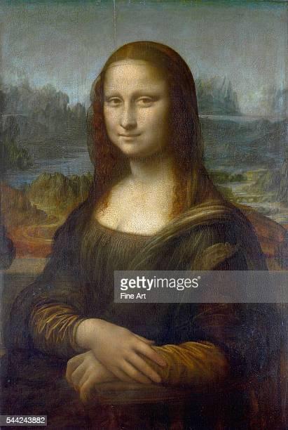 Leonardo da Vinci Mona Lisa c 1503–19 oil on poplar 77 × 53 cm Musée du Louvre Paris