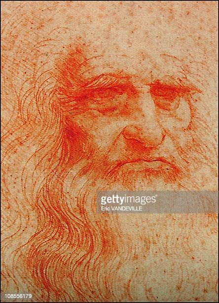 Leonardo da Vinci's autoportt and Giorgio Vasari the Renaissance painter and architect referred to Leonardo's use of rooms in the monastery in his...