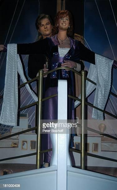 Leonardo di Caprio Kate Winslet Kinofilm 'Titanic' Wax Museum Wachsfigur Los Angeles LA Kalifornien Californien USA Amerika Nordamerika Reise...