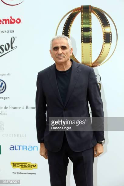 Leonardo Di Costanzo attends Globi D'Oro awards ceremony at the Academie de France Villa Medici on June 13 2018 in Rome Italy