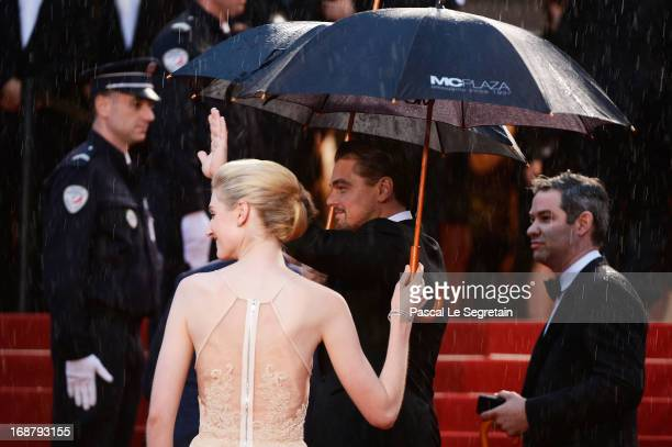 Leonardo DiCaprio and Elizabeth Debicki attend the Opening Ceremony and 'The Great Gatsby' Premiere during the 66th Annual Cannes Film Festival at...