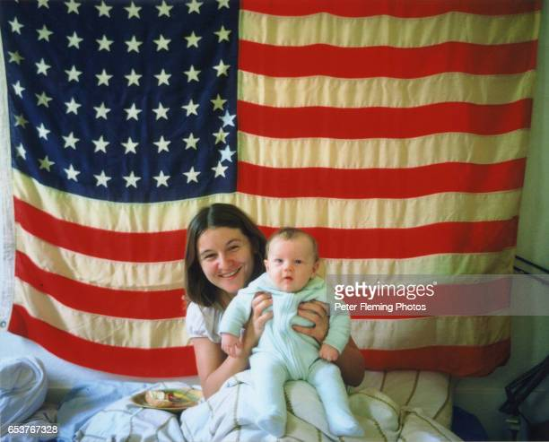 Los Angeles July 1975 Leonardo DiCaprio and his mother Irmelin DiCaprio pose for a portrait in their Hollywood California home photo by Peter...