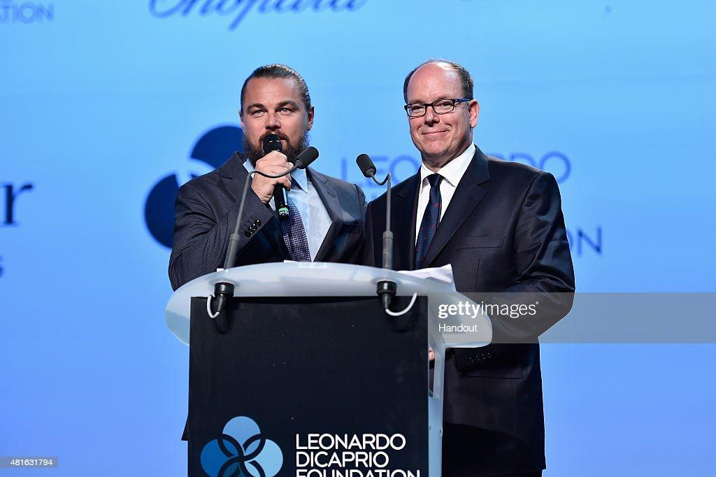 The Leonardo DiCaprio Foundation 2nd Annual Saint-Tropez Gala - Dinner & Auction : News Photo
