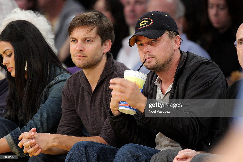 Celebrities Attend The Lakers Game : News Photo