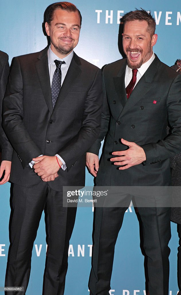 14eb871ae Leonardo DiCaprio and Tom Hardy attend the UK Premiere of