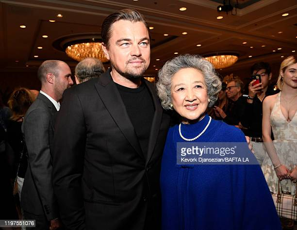 Leonardo DiCaprio and Zhao Shuzhen attend The BAFTA Los Angeles Tea Party at Four Seasons Hotel Los Angeles at Beverly Hills on January 04 2020 in...