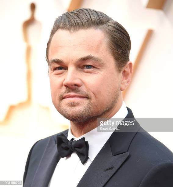 Leonardo DiCaprio arrives at the 92nd Annual Academy Awards at Hollywood and Highland on February 09 2020 in Hollywood California