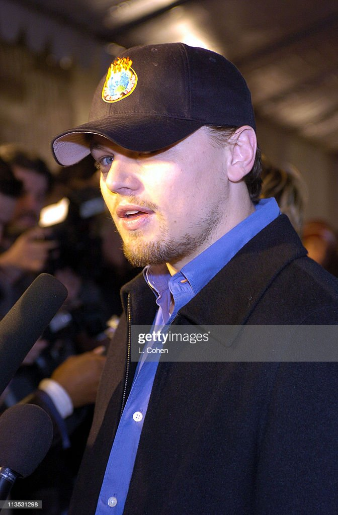 Leonardo DiCaprio arrives at the Declare Yourself 'Hollywood Celebrates Democracy' event on March 2. Declare Yourself is a national nonpartisan, nonprofit campaign to energize and empower a new movement of young voters to participate in the 2004, www.DeclareYourself.com