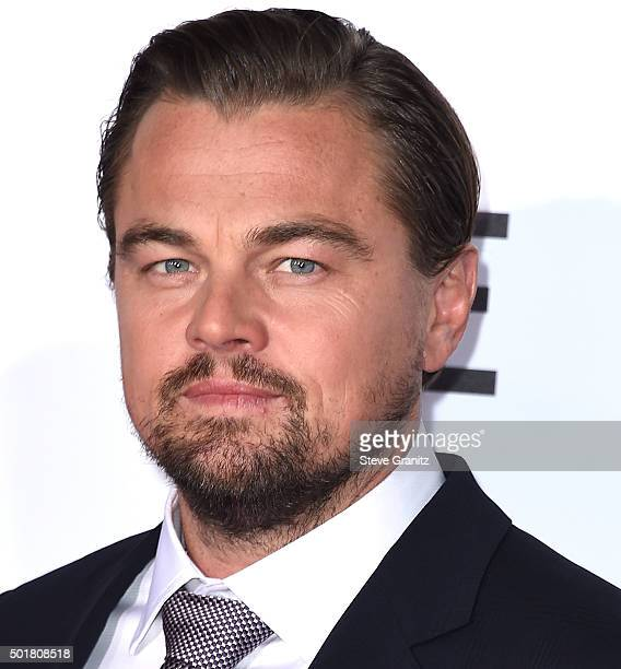 Leonardo DiCaprio arrives at the Premiere Of 20th Century Fox And Regency Enterprises' The Revenant at TCL Chinese Theatre on December 16 2015 in...