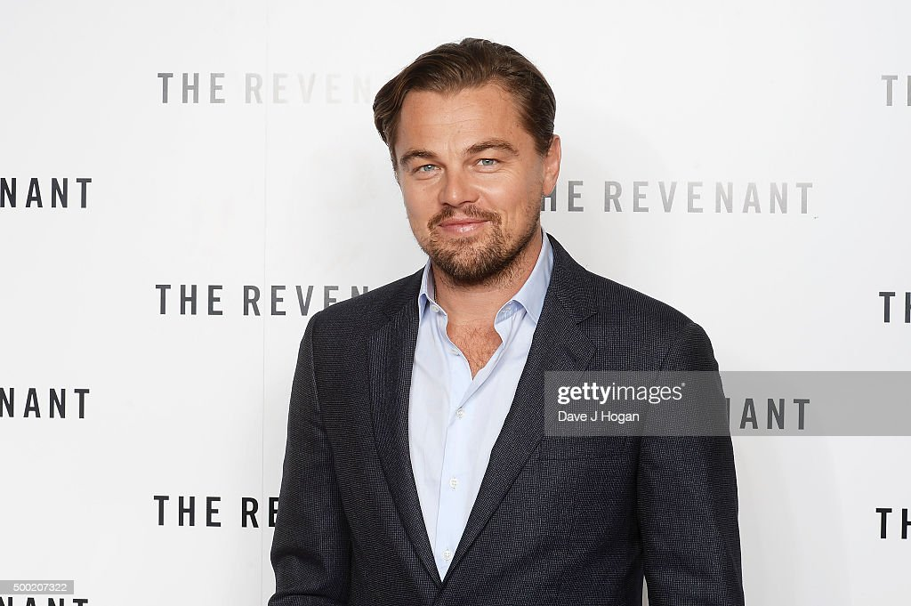 Leonardo DiCaprio attendsa BAFTA screening of 'The Revenant'