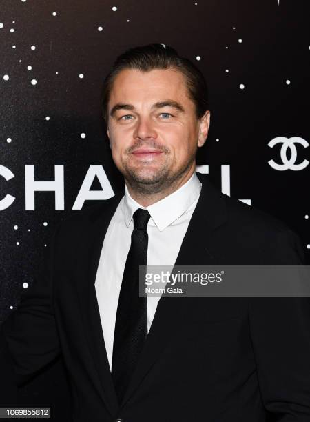 Leonardo DiCaprio attends the 2018 Museum of Modern Art Film Benefit A Tribute To Martin Scorsese at Museum of Modern Art on November 19 2018 in New...