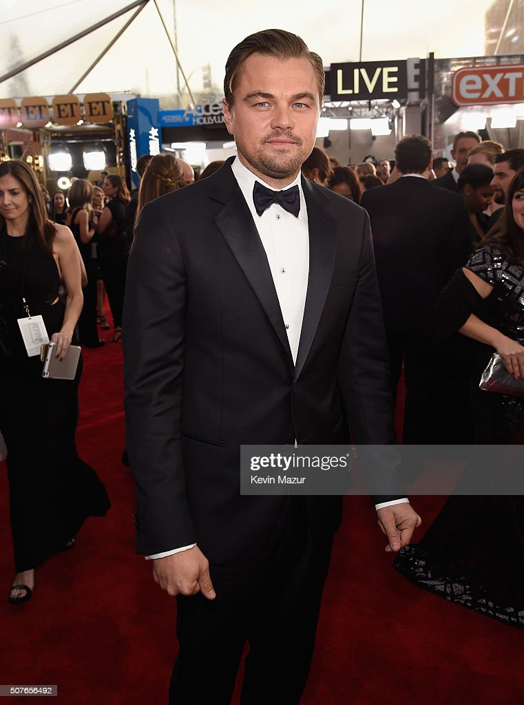 Leonardo DiCaprio attends The 22nd Annual Screen Actors Guild Awards at The Shrine Auditorium on January 30, 2016 in Los Angeles, California. 25650_012