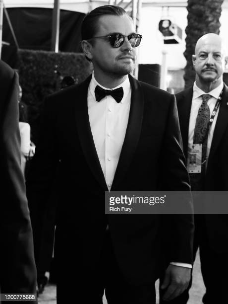 Leonardo DiCaprio attends the 26th Annual Screen Actors Guild Awards at The Shrine Auditorium on January 19 2020 in Los Angeles California