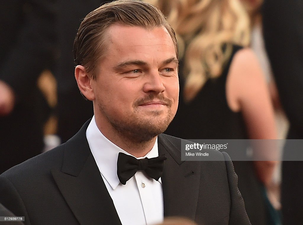 Leonardo DiCaprio attends the 88th Annual Academy Awards at Hollywood & Highland Center on February 28, 2016 in Hollywood, California.