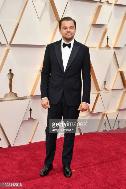 Leonardo DiCaprio attends the 92nd Annual Academy Awards at Hollywood and Highland on February 09, 2020 in Hollywood, California.