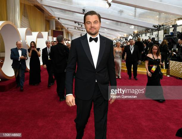 Leonardo DiCaprio attends the 92nd Annual Academy Awards at Hollywood and Highland on February 09 2020 in Hollywood California
