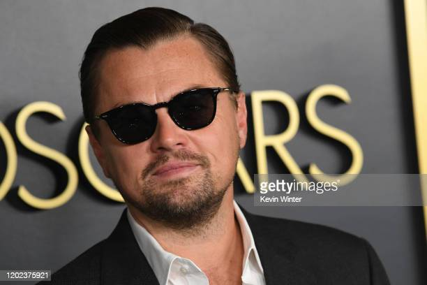 Leonardo DiCaprio attends the 92nd Oscars Nominees Luncheon on January 27 2020 in Hollywood California